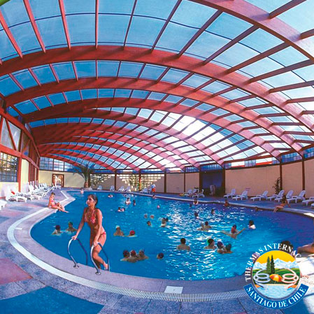 Piscinas en santiago piscinas con toboganes la diversion for Piscinas con toboganes
